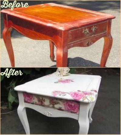 diy decoupage furniture. DIY Decoupage Furniture With Napkins Diy Pinterest