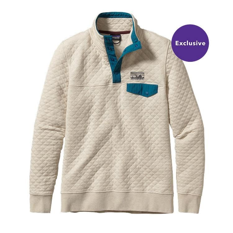 Women's Cotton Quilt Snap-T® Pullover | Patagonia, Pullover and Stone