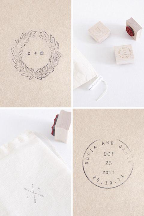 Follow Studio Custom Stamps Wedding Stationary Pinterest