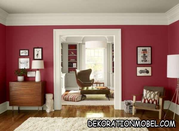 Wohnzimmer grau gelb wandfarbe auswählen kombinieren ideen 2611 - Wohnzimmer Design Grau