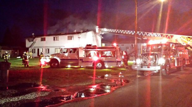 Apartment fire in Monroe displaces tenants