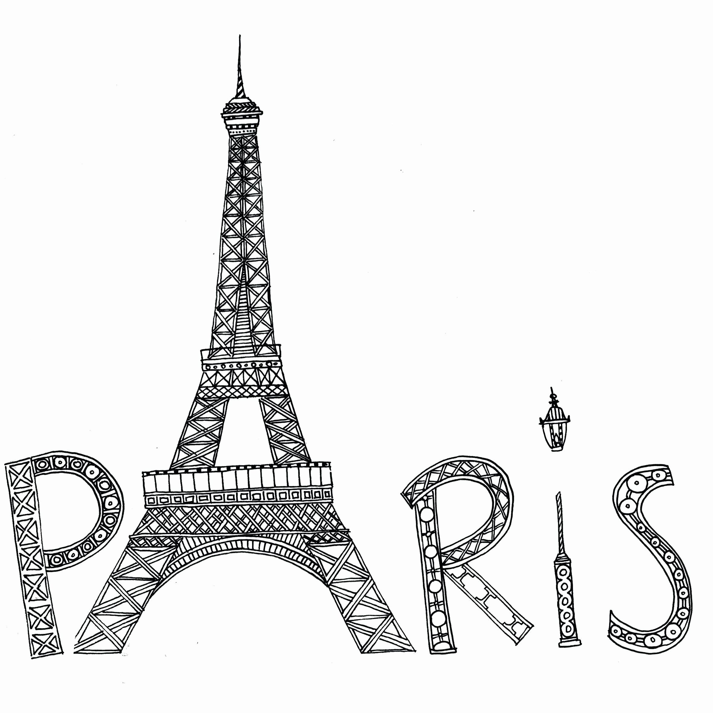 - Eiffel Tower Coloring Pages Free In 2020 Eiffel Tower Art