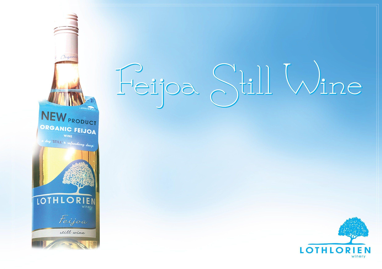 Launch of the lothlorien feijoa white wine dasani bottle