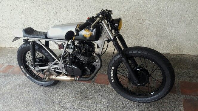 my raw rusted skyteam ace 125 cafe racer pinterest. Black Bedroom Furniture Sets. Home Design Ideas
