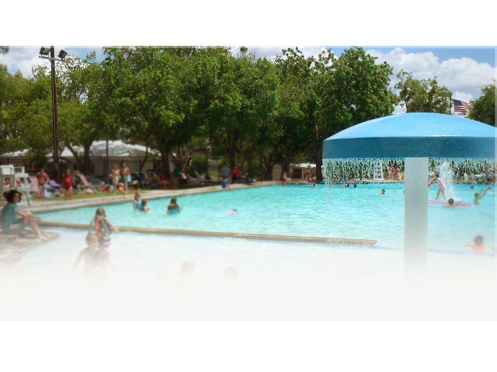 OAKDALE PARK Campground at GLEN ROSE TX   Glen rose