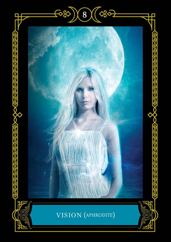 Vision Aphrodite Colette Baron Reid Oracle Cards Founder Of Oracle School House Of Night Oracle Cards Angel Tarot