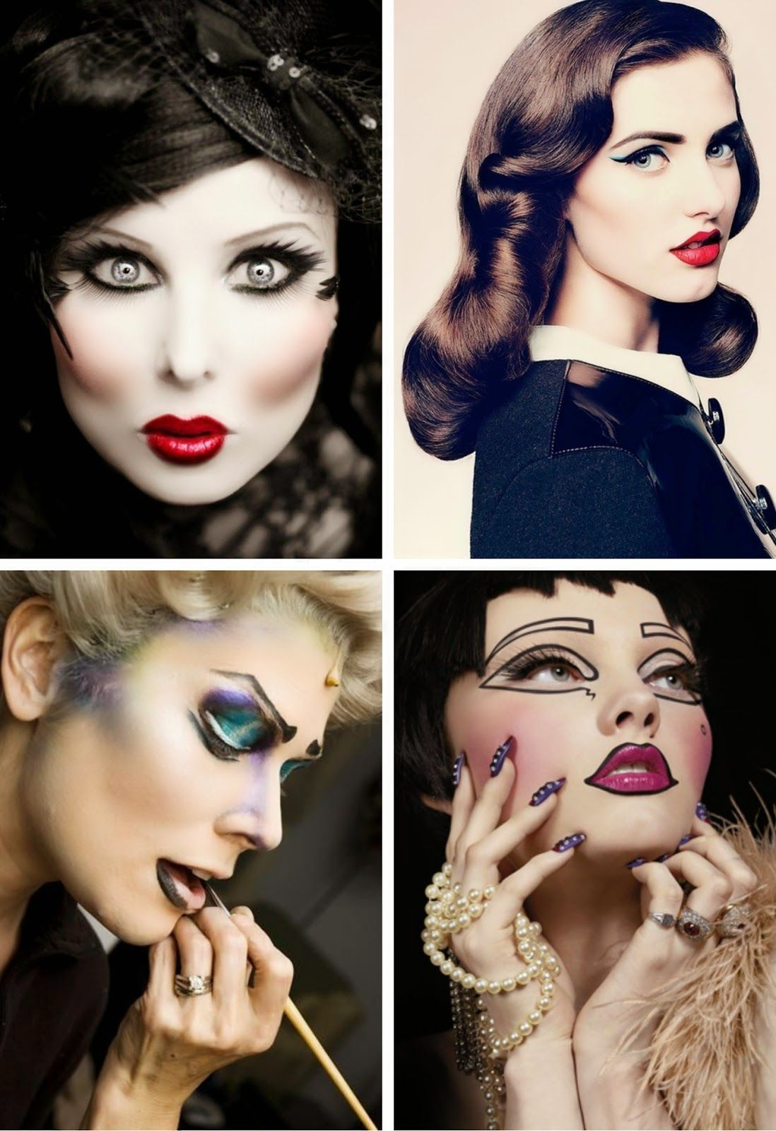 5 Best Broadway Inspired Makeup Video Tutorials Lost In Daydreams Makeup Videos Makeup Inspiration Beauty Makeup Tutorial