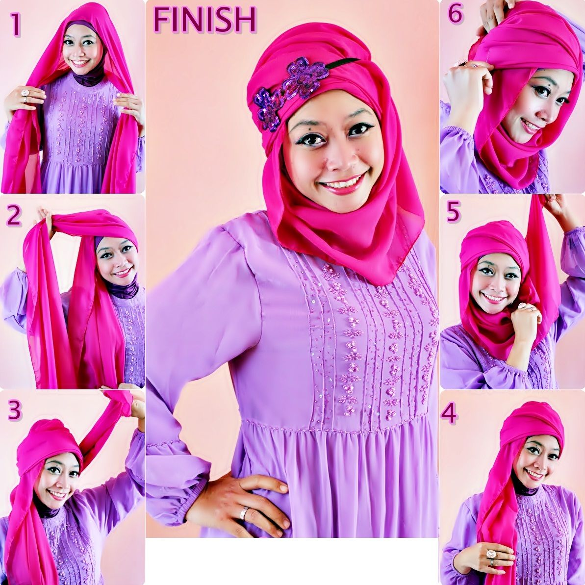 Unique Hijabhijab Casual Tutorial How To Wear Hijab Styles How