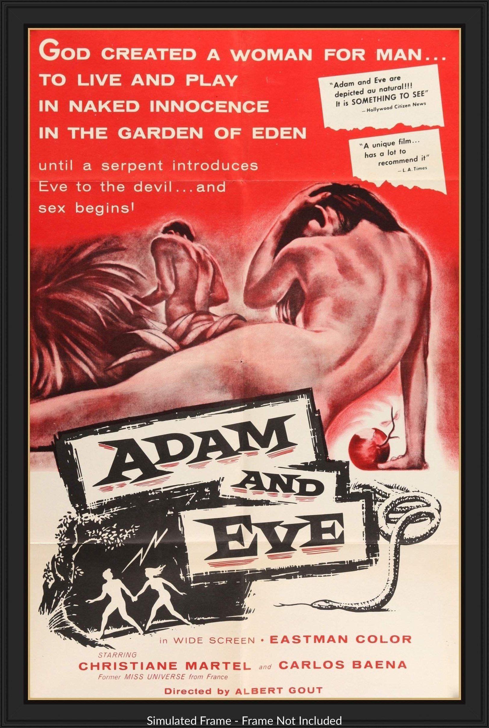 Adam And Eve 1956 Filmplakate Plakat Filme