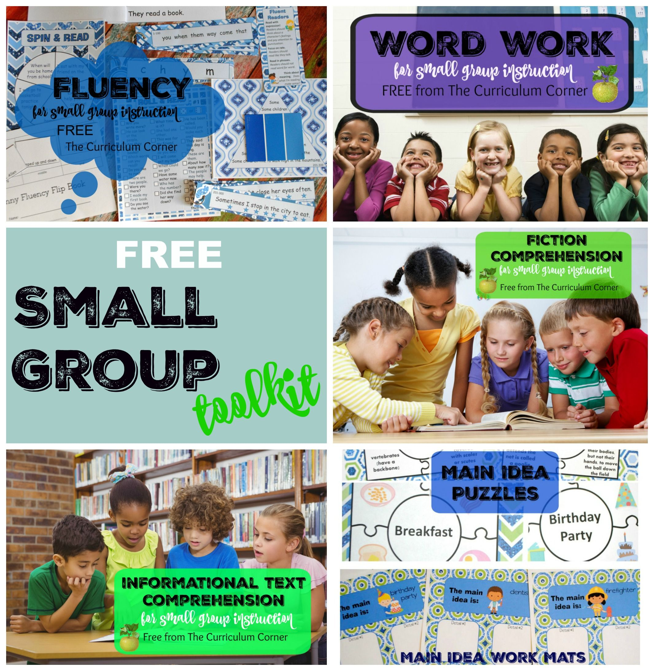 Small Group Reading Toolkit Literacy Language Arts And Guided Reading