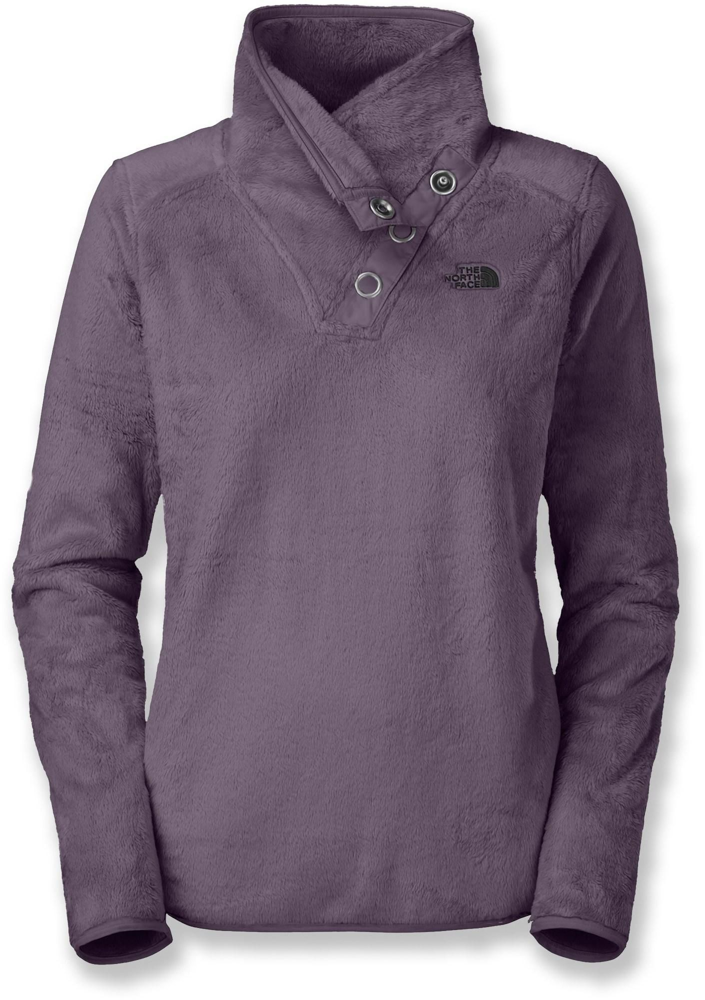 cf5c426f6ad8 The North Face Mossbud Snap Neck Sweater - Women s