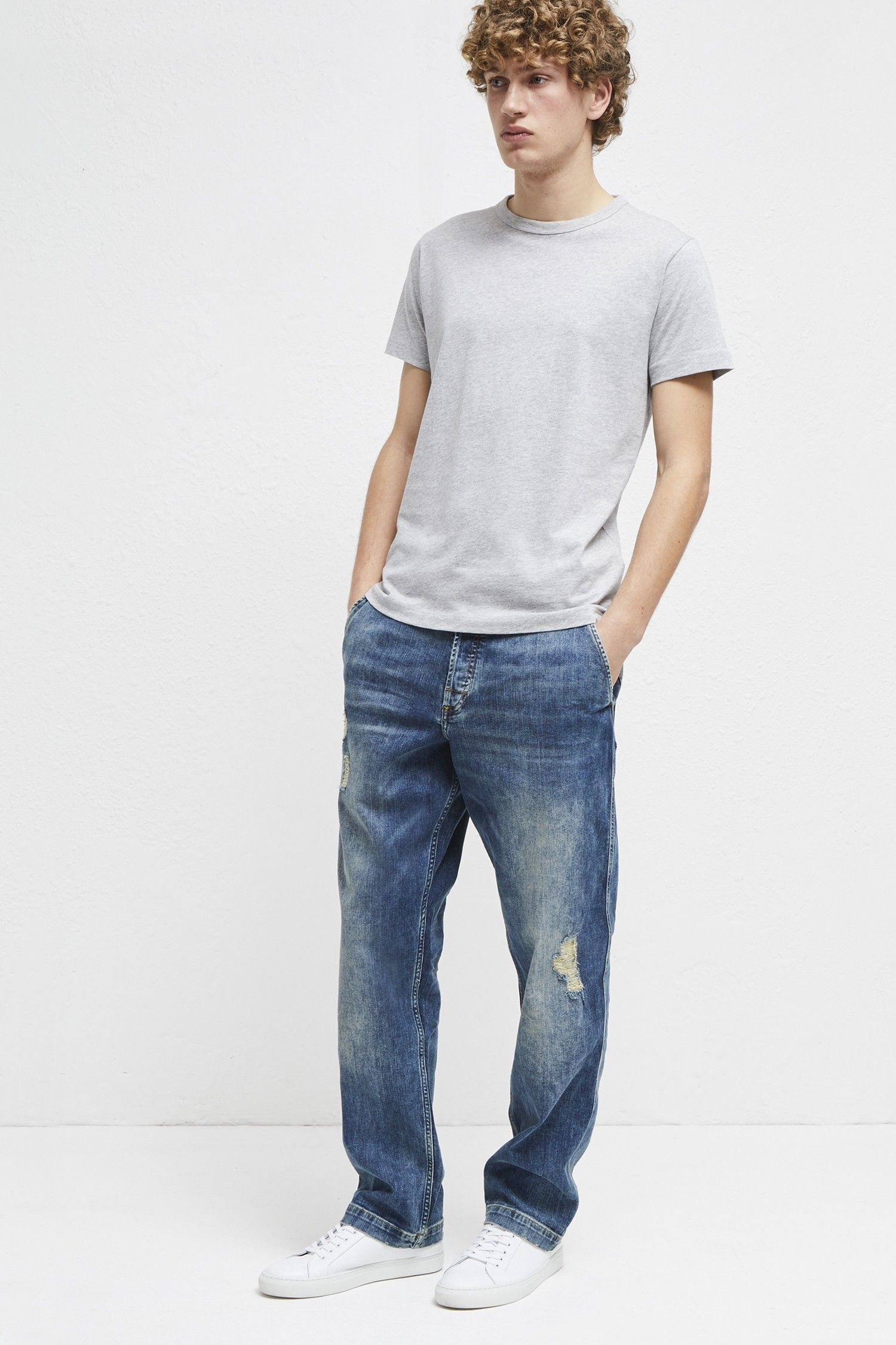 French connection track denim loose fit jeans 32 in 2020