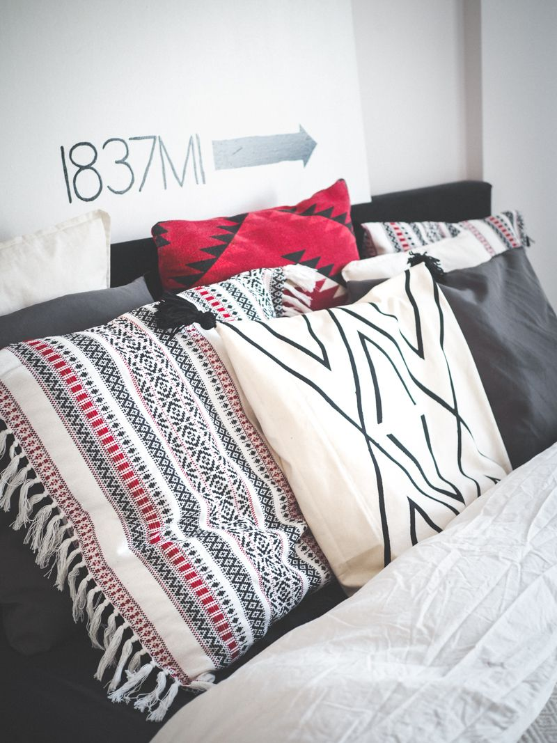 DIY Morocco pillow