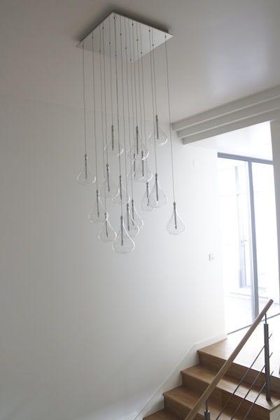 Jensen Dangle Cluster Ceiling Light John Lewis, Modern Chandelier, Designer  Lighting, Stairwell Lighting