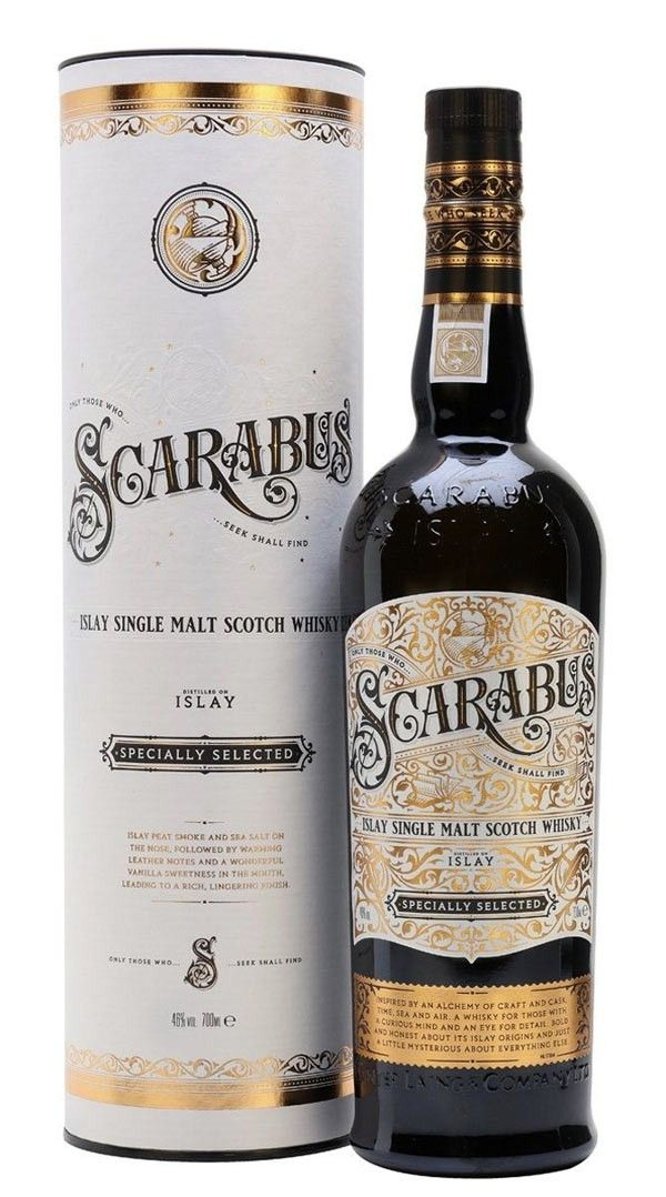Photo of Whisky SCARABUS Islay Single Malt 46% 70cl