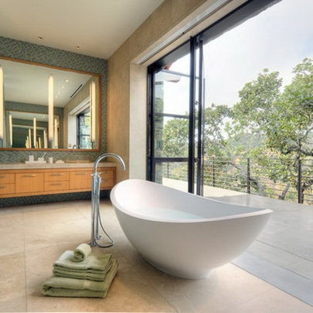 51 Ultra Modern Luxury Bathrooms The Best Of The Best With Images Outdoor Bathrooms Bathroom Design Romantic Bathrooms