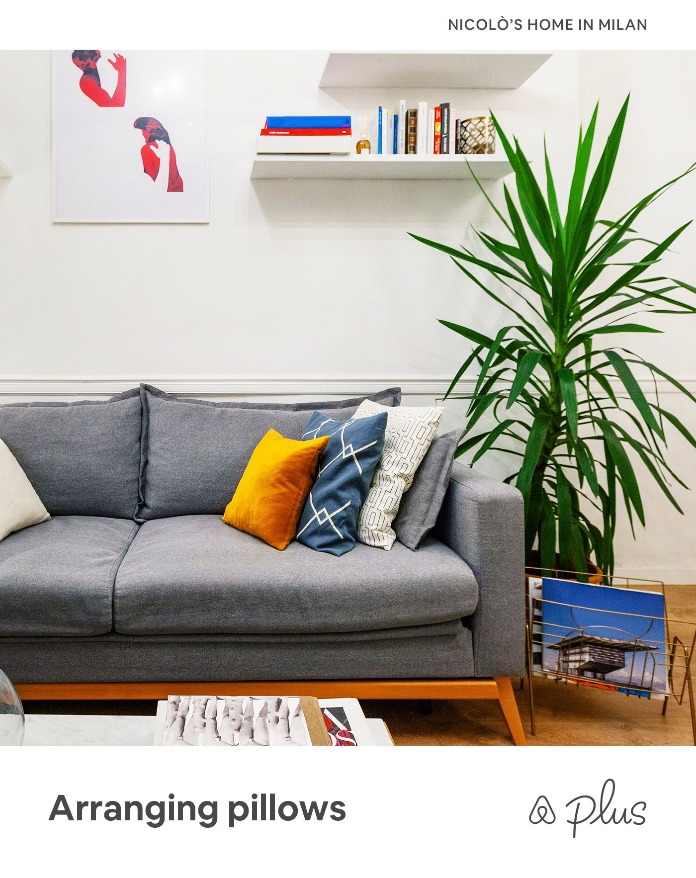 an easy way to arrange pillows on a couch is with symmetry place rh pinterest com
