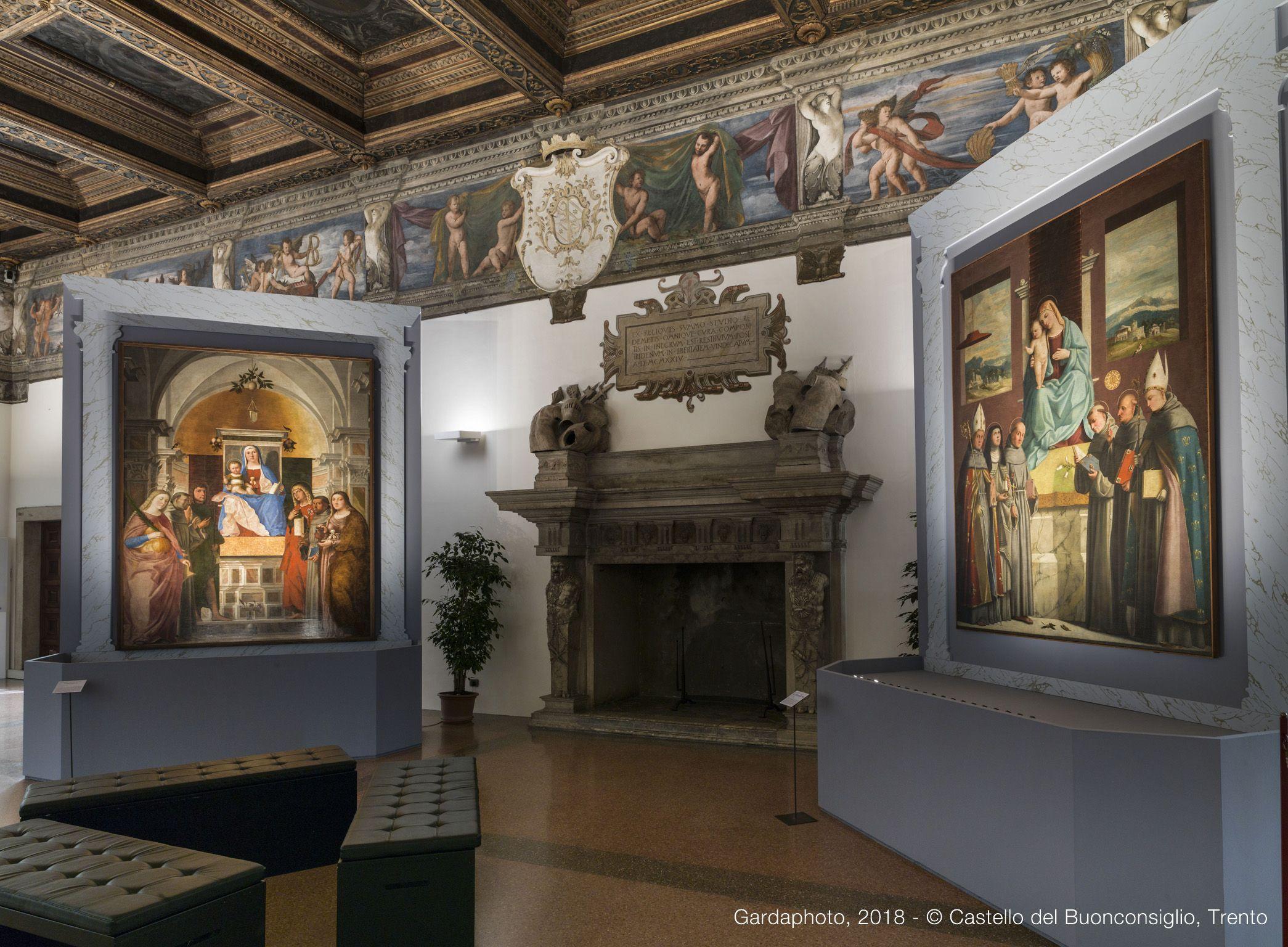 Illuminazione brillamenti delle aree espositive e delle opere d
