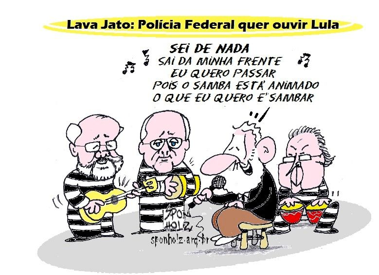 PF ouvirá Lula... dirá toda a verdade?...