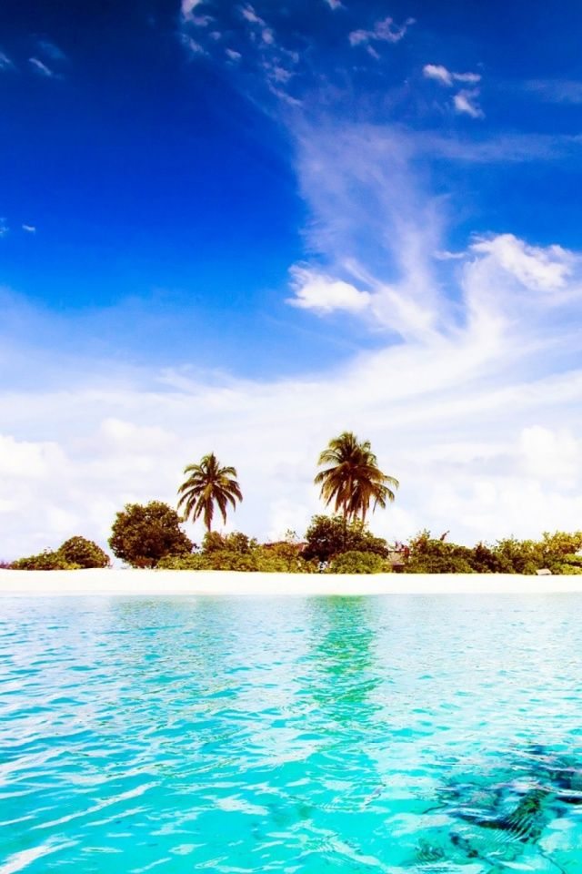 Dhiggiri Island Maldives High Definition Wallpaper Priroda
