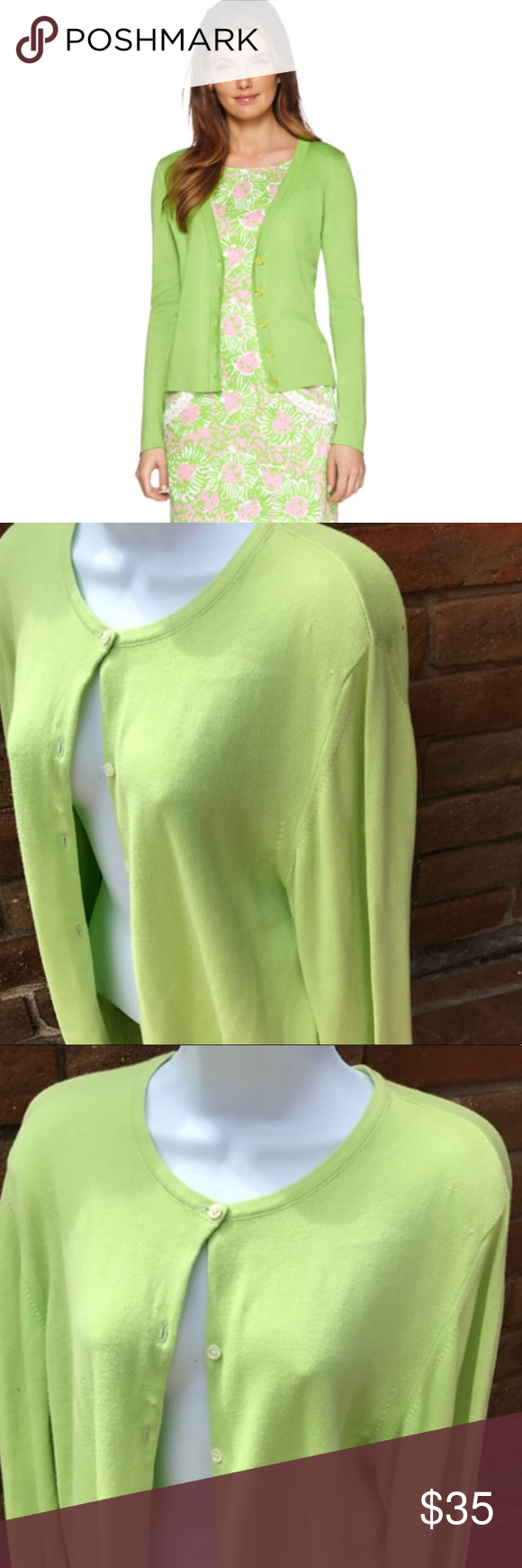Lily Pultizer paley lime green cardigan | Lily pultizer, Limes and ...
