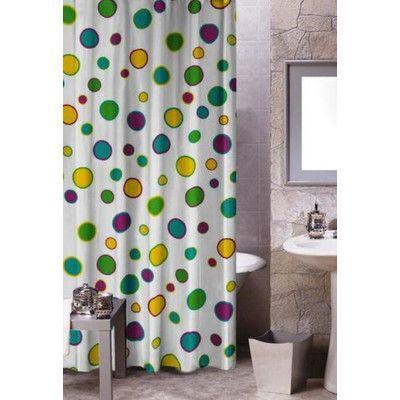 Kashi Home Halo Shower Curtain