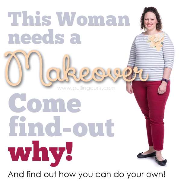 This woman seems like she's OK.... why does she need a makeover? People these days....