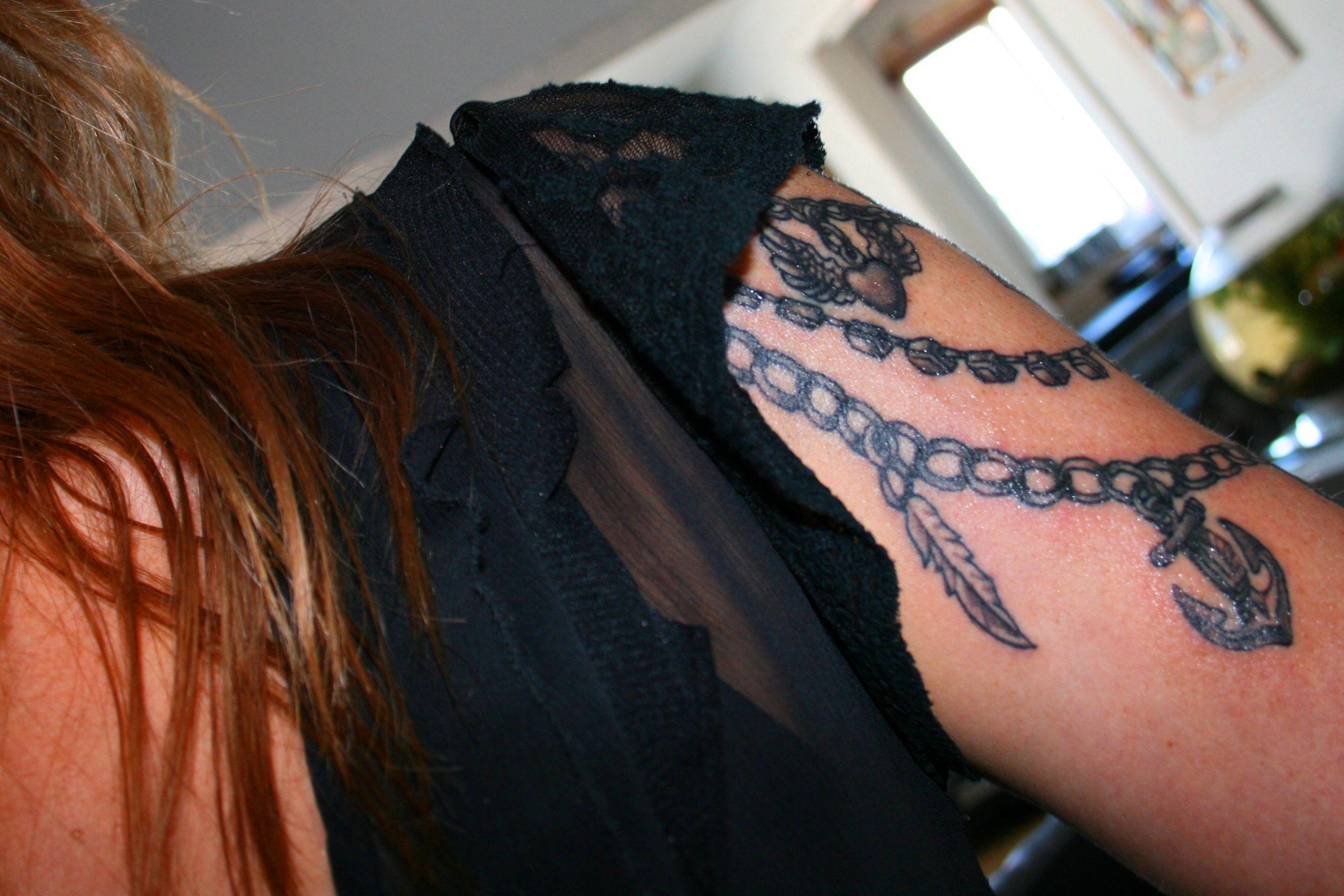 New shoulder tattoo ... Revolver Rooms