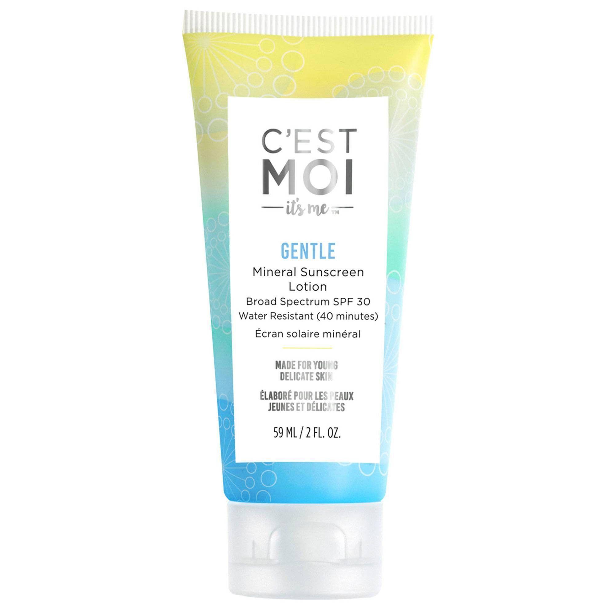 C'est Moi Gentle Mineral Sunscreen Lotion SPF 30 2 fl