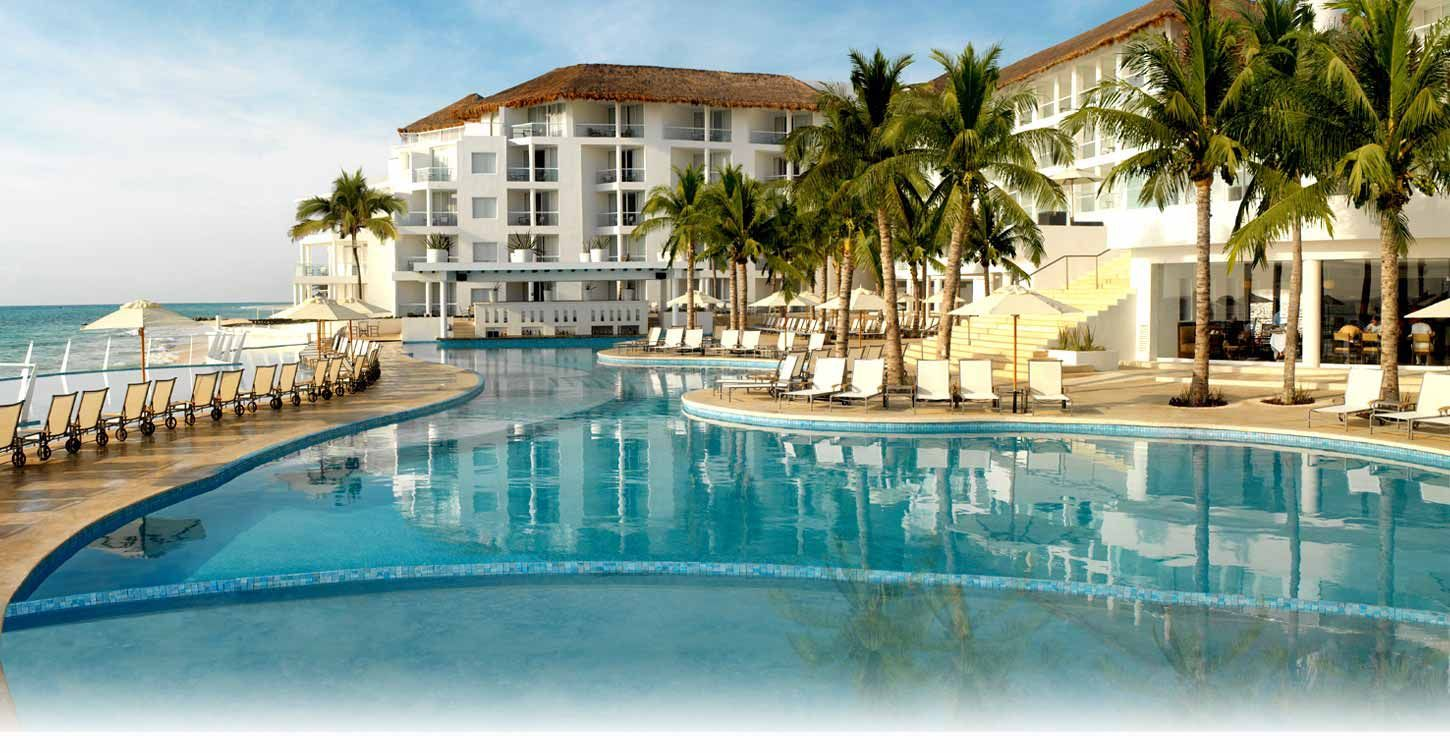 all inclusive beach wedding destinations%0A our destination wedding spot the best AllInclusive resort  The Playacar  Palace in Playa del Carmen  Mexico