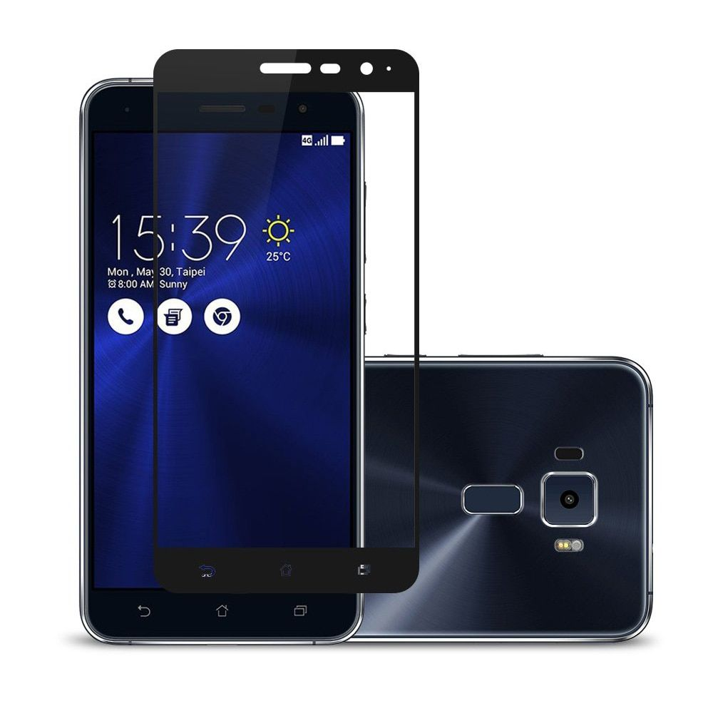 Full cover tempered glass for asus zenfone 3 max zc520tl