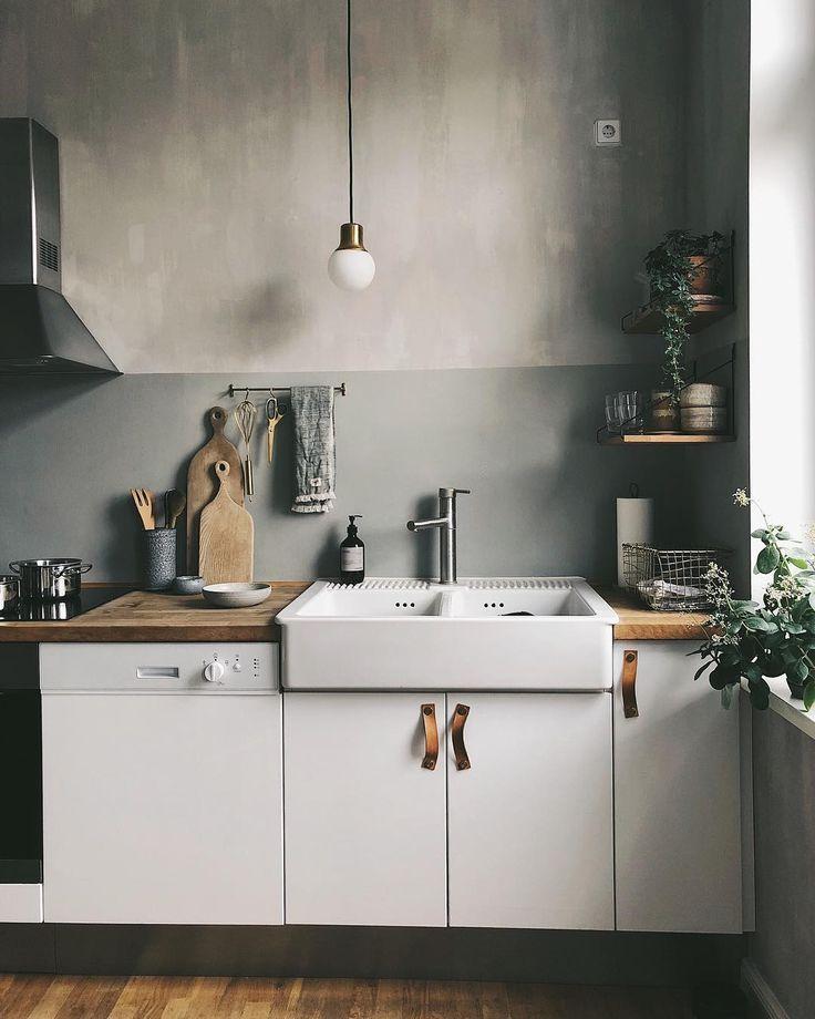 Photo of Notre cuisine blanche à Berlin. cucina di ispirazione – stile scandinavo – ik …