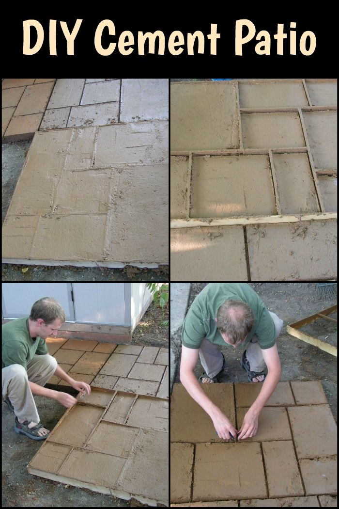 Why go for a plain looking patio when you can make it as fabulous as do it yourself cement patio solutioingenieria Images
