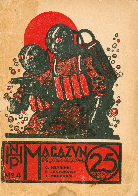 Stefan Norblin, nHP magazine cover, Poland 1926