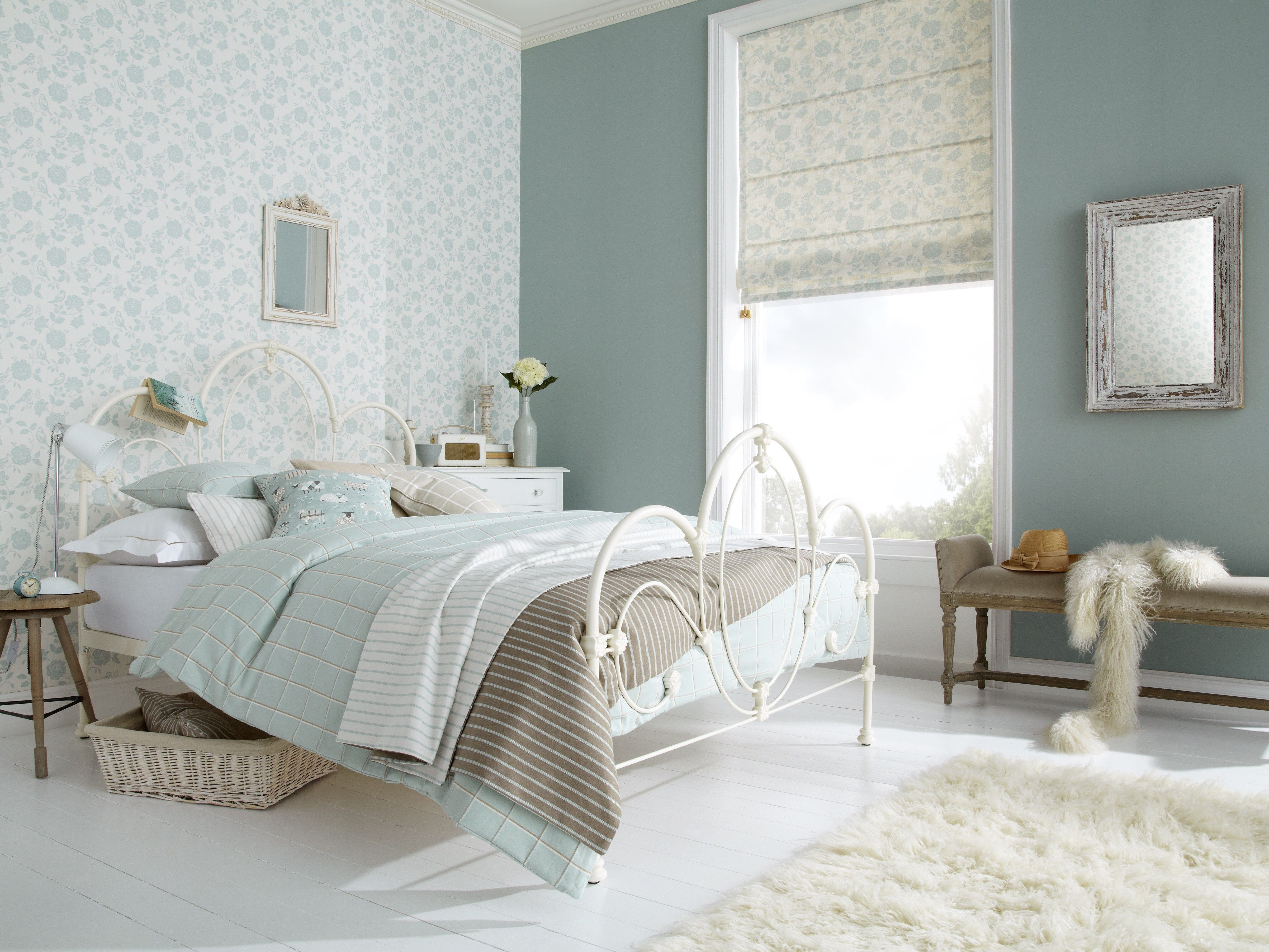 iLiv Henley duck egg fabric for blinds