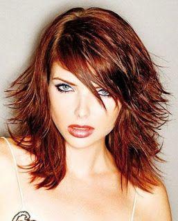 Flippy Layered Medium Length Hair Layered Hairstyles