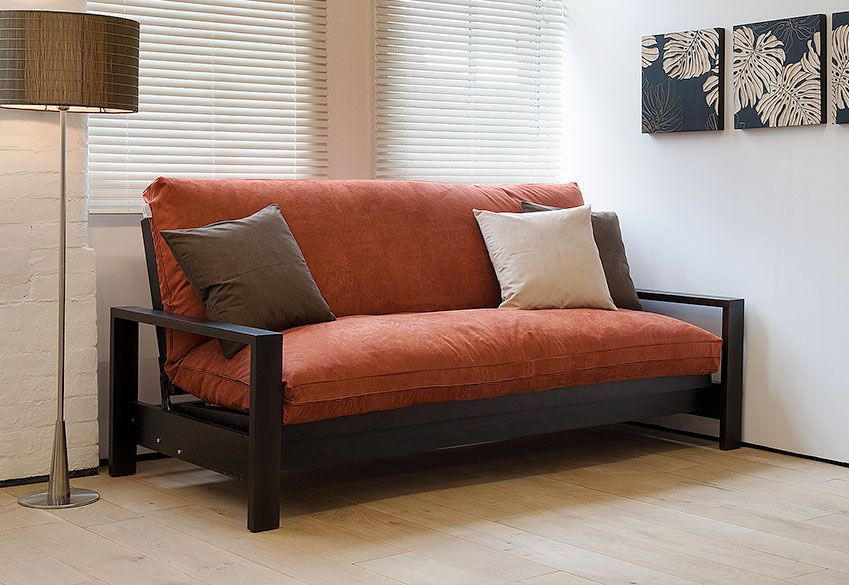 This Is A Picture Of The Natural Bed Company Cuba Sofa With Futon Mattress It Makes For Really Comfortable And Convincing Yet Pulls Out