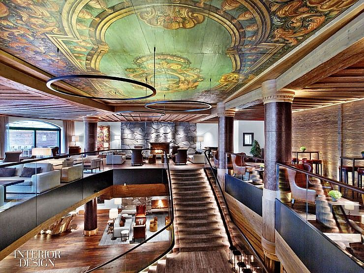 Alpina gstaad hotel lounge by hba teams with jaggi  partner also best inspirational designs images on pinterest architects rh za