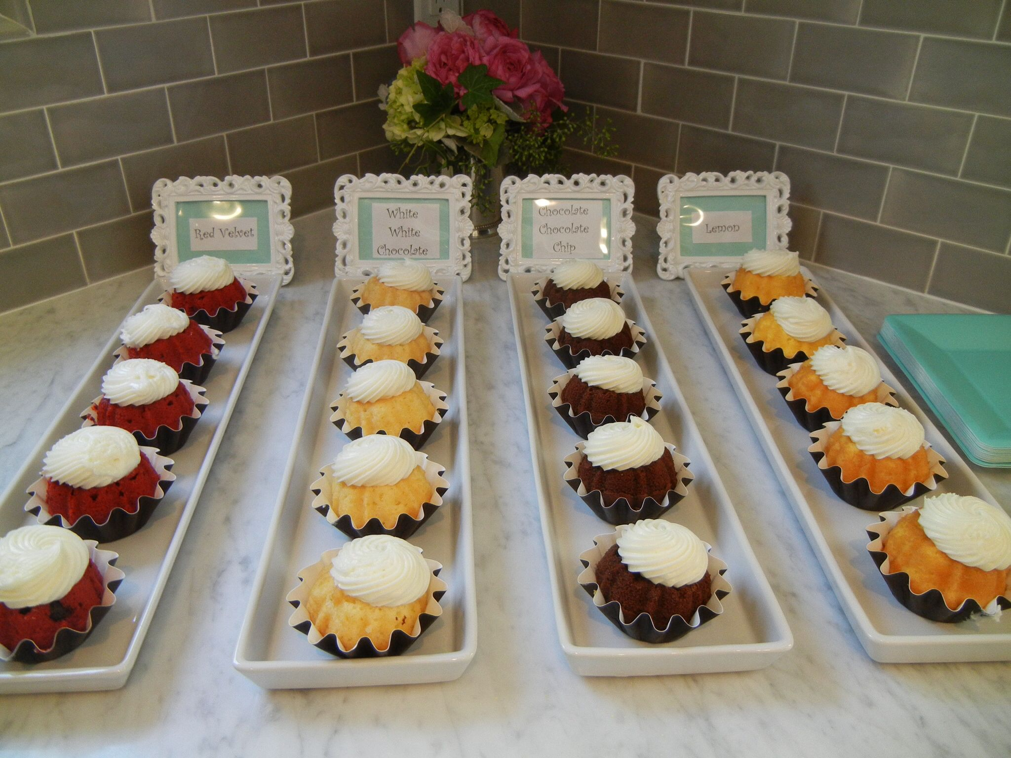 A Variety Of Bundtinis From Nothing Bundt Cakes Were A Hit