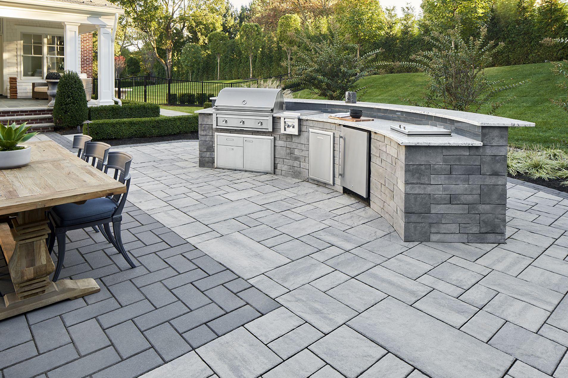 46+ Backyard paving stone ideas info