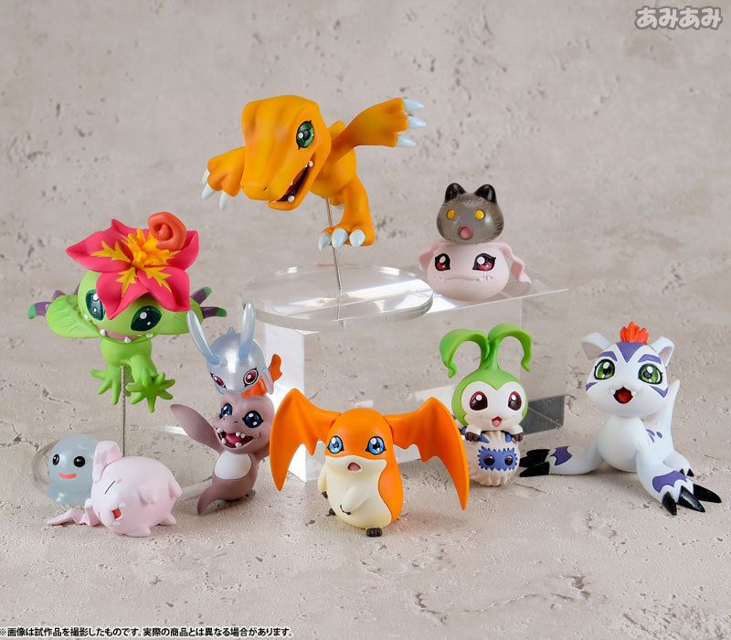 Digimon Adventure Digi Colle Data1 8-Pack Figure Set