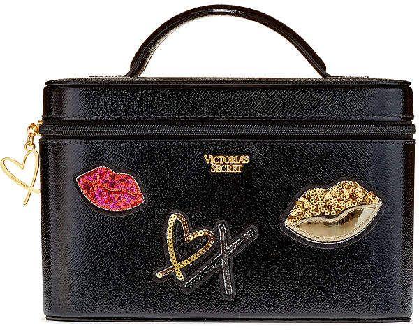 where to buy clearance sale size 7 Victoria's Secret Victorias Secret Runway Patch Vanity Case ...