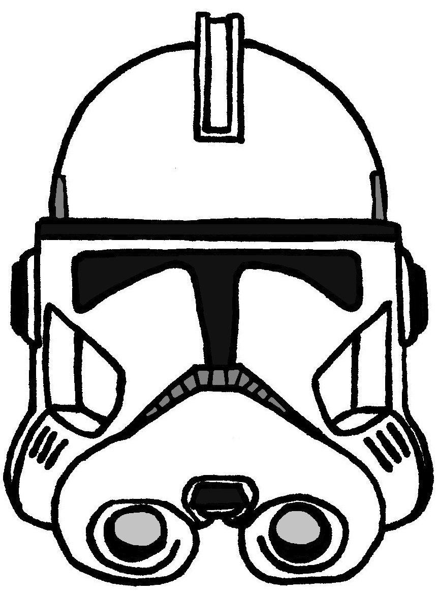 Clone Trooper Helmet Phase 2 | Clone Wars TV Show Helmets ...