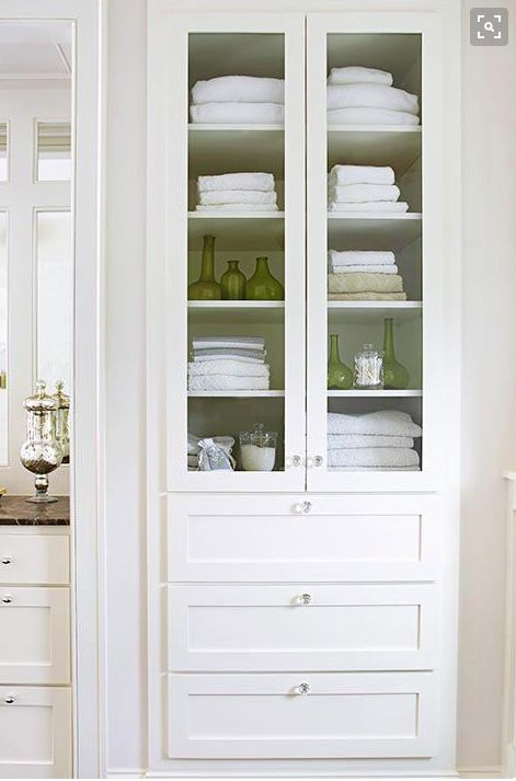 Diy Storage Cabinet Bathroom Linen Closets 43 Ideas For 2019 With