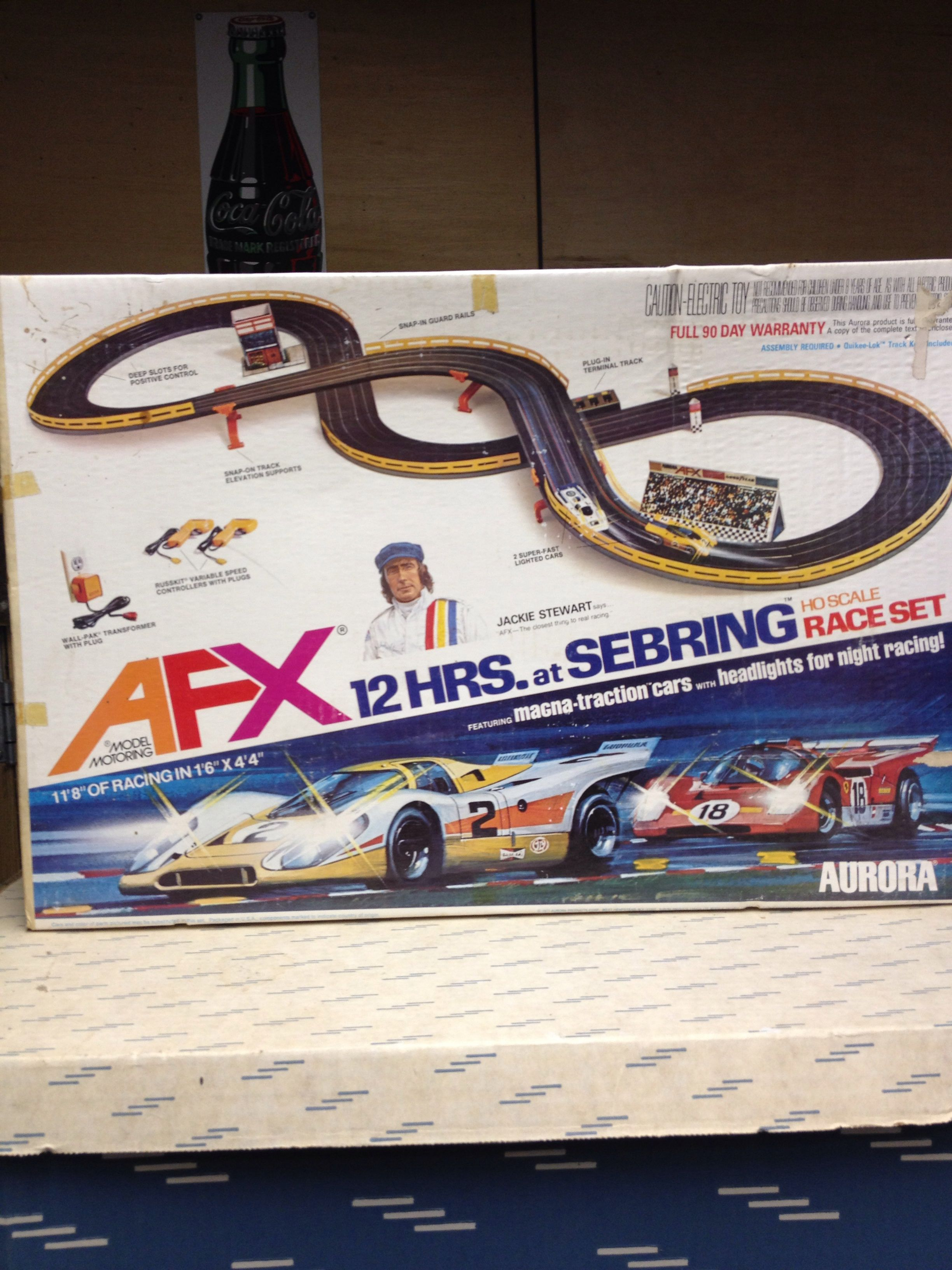 aurora afx slot car set model road racing pinterest slot cars rh pinterest com