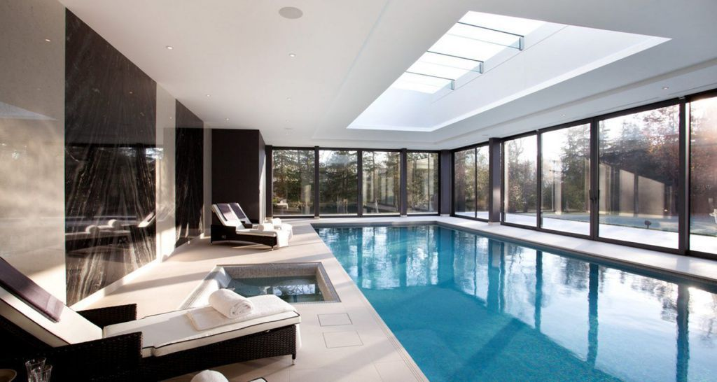 50 Beautiful Indoor Swimming Pool Design Ideas For Your Home Indoor Swimming Pool Design Indoor Pool House Pool House Designs
