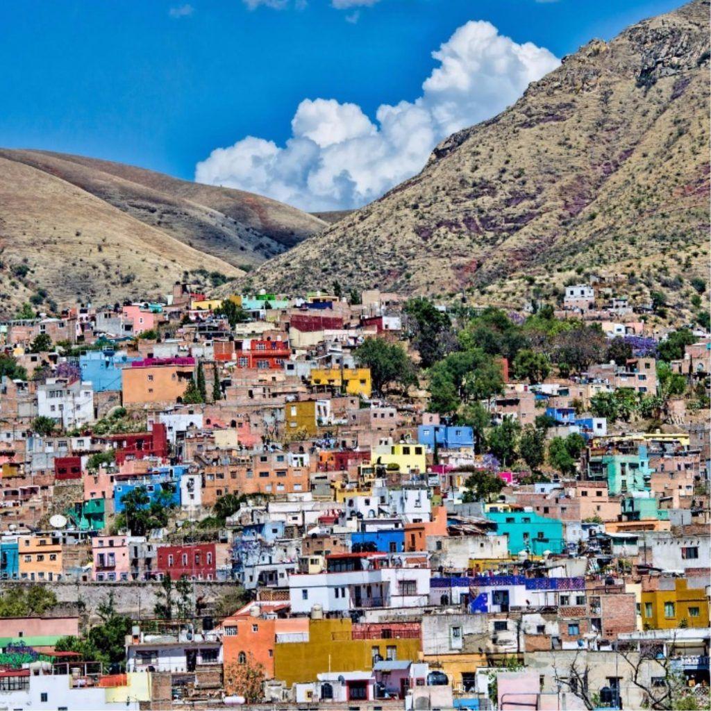 Most Colourful Towns In Mexico Mexico Travel Guanajuato Mexico Guanajuato