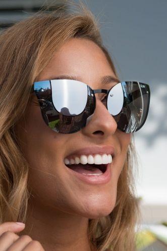 a4521984356 Higher Love Quay Sunglasses – Black Silver