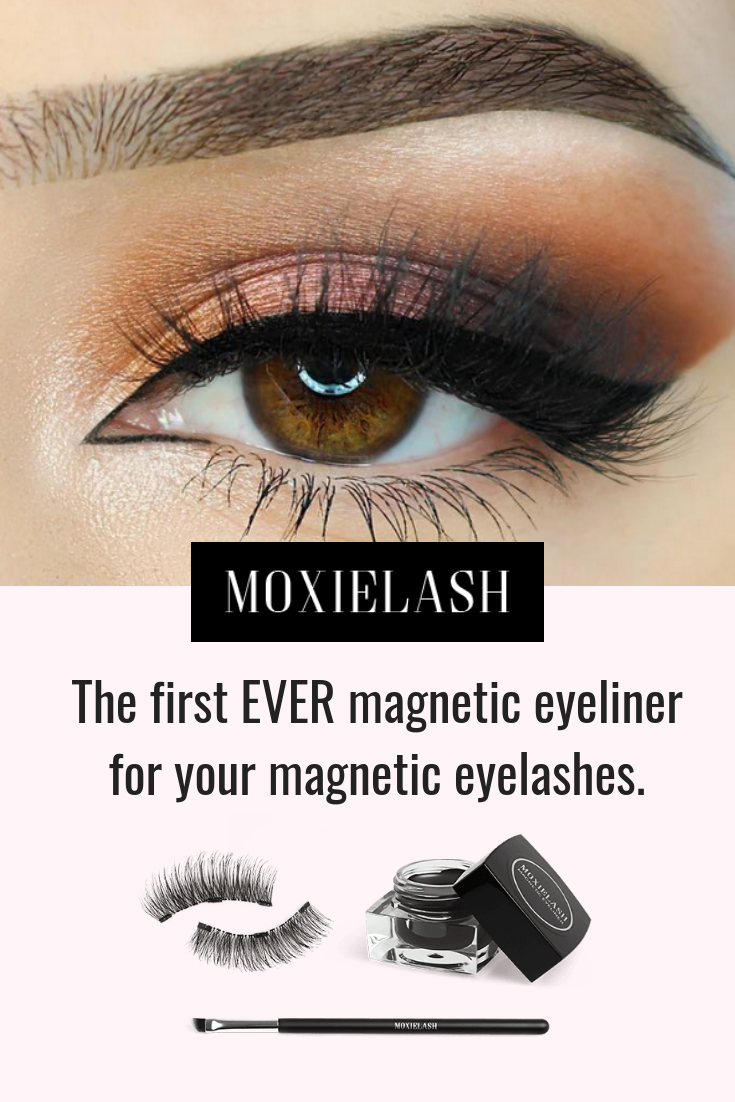 a9bd61008c0 The first EVER Magnetic Liner for Magnetic Lashes! Natural, fuller lashes  in 10 seconds. Simply line the eyes and pop the magnetic lash strips on the  eye ...