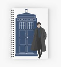 Dr. Who / Sherlock Spiral Notebook